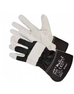 Rękawice wzmacniane skóra RLSWIN MOCNE BARDZO MIĘKKIE !!!