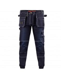 2. Elastyczne Spodnie Jogger ze Stretchem i ściągaczami w nogawkach