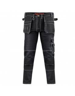 4. Elastyczne Spodnie Jogger ze Stretchem i ściągaczami w nogawkach