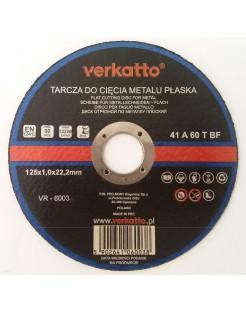 TARCZA DO METALU 125 x 1.0 SILVER DOBRA I TANIE