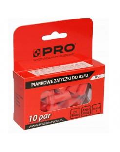 Zatyczki do uszu PRO -10 par