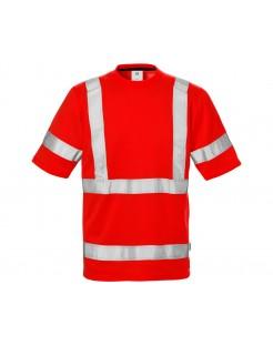 Koszulka robocza ostrzegawcza Hi-Vis 7024 PLU TH Fristads